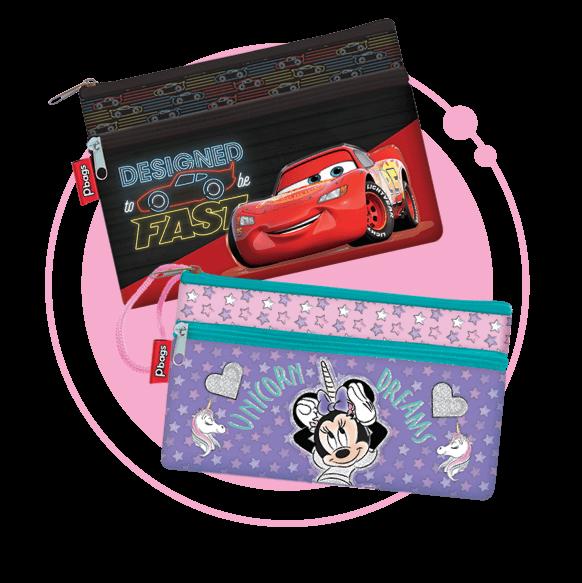 Cartucheras Disney | Tienda Primavera