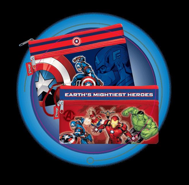 Cartucheras Avengers