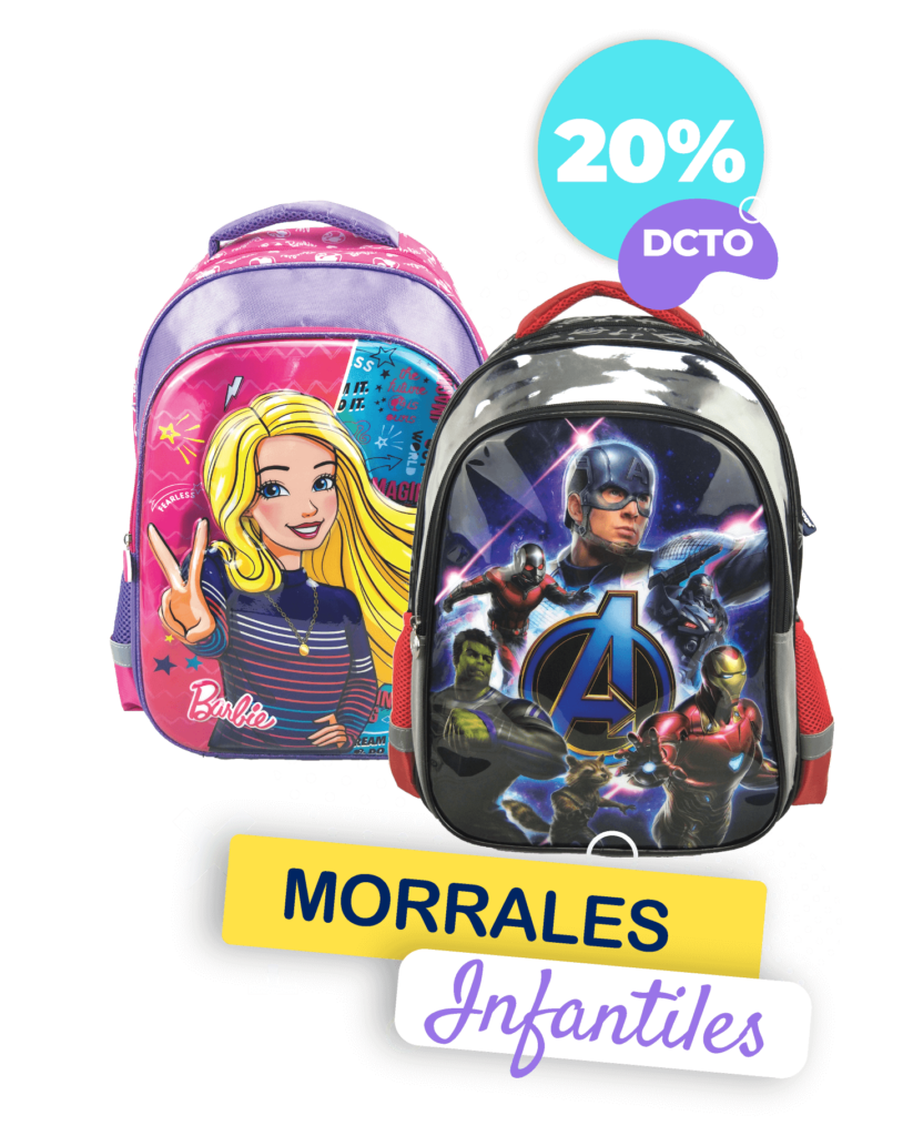 Morrales Infantiles 20 Dcto. | Tienda Primavera